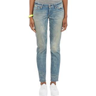 Simon Miller Highland Slim Fit Boyfriend Jeans