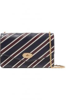 Mulberry College Stripe Medium Darley Cross-Body Bag