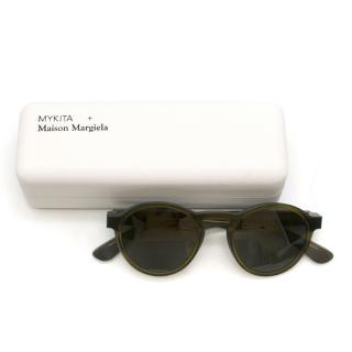 Mykita + Maison Margiela Raw Round Sunglasses