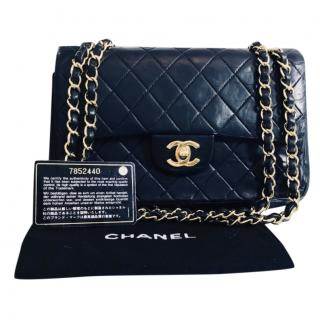 Chanel Quilted-Leather Vintage Timeless Bag