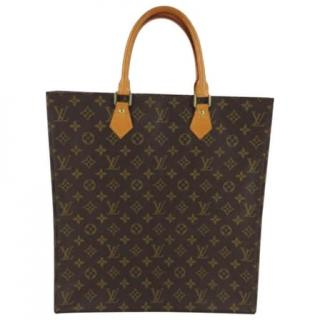 Louis Vuitton Sac Plat M51140 Monogram Hand Bag