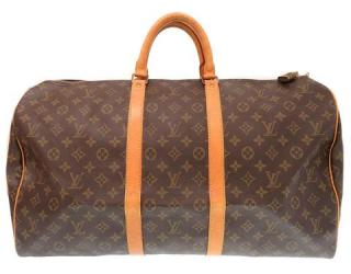 Louis Vuitton Keepall 50 M41426 Monogram Boston Bag