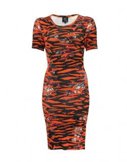 Alexander McQueen Tiger Print Dress