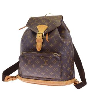 Louis Vuitton Montsouris GM M51135 Monogram BackPack