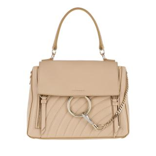 Chloe Faye Day Bag Small Pearl Beige