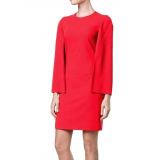 Givenchy Crepe Cape Dress as worn by Melania Trump