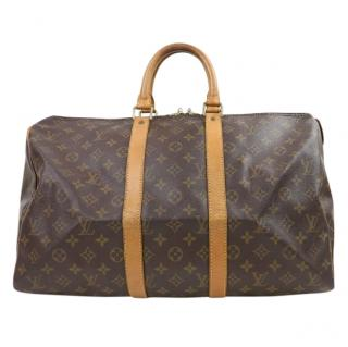 Louis Vuitton Keepall 45 Monogram Boston Bag