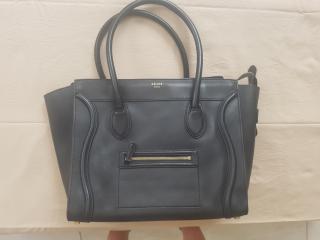 Celine Black Large Luggage Tote