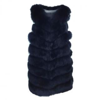 Bespoke Fox Fur Gilet