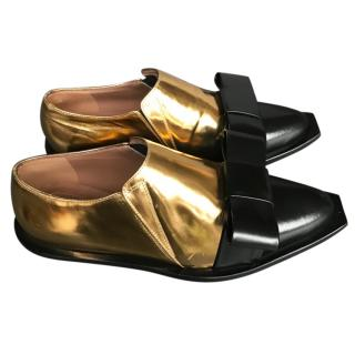 Marni Two tone metallic shoes