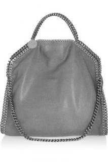 Stella McCartney Pale Grey Falabella Shoulder Bag