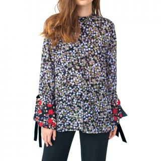 Mother of Pearl Kirby Floral shirt