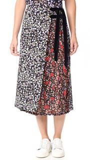 Mother of Pearl Mittie pleated skirt