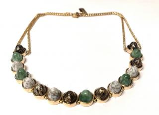 Moutton Collet Bohemian Cabochon Necklace