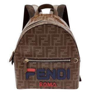 Fendi x Fila Monogram Mini Backpack