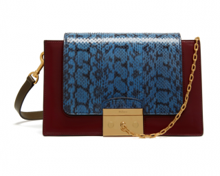 Mulberry Pembroke Snakeskin & Smooth Calf Leather Bag