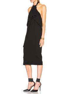 McQ Alexander McQueen Draped Halter-Neck Dress