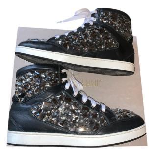 Jimmy Choo Tokyo high top embellished boots