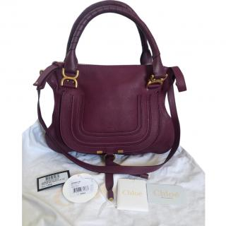 Chloe Lilac Marcie Shoulder Bag