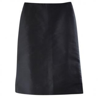 Celine silk pencil skirt