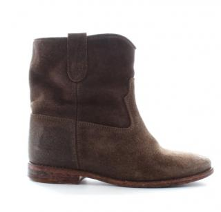 Isabel Marant 'Crisi' Suede Ankle Boots