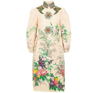 Gucci crystal fairytale runway coat