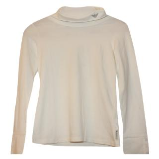 Armani Girl's Rollneck Jumper