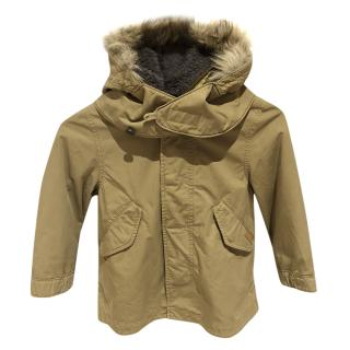 Burberry boy's classic coat