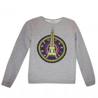 Kenzo Girl's Grey Paris Sweatshirt