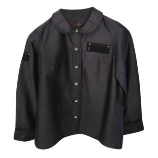 Mulberry black blouse