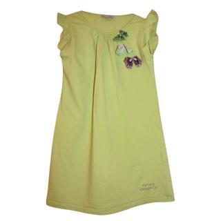 Versace Girl's Green Butterfly Dress