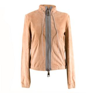 Stouls Peach Packable Suede Jacket