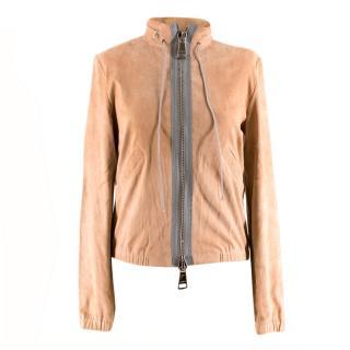 Stouls Peach Packable Suede Jacket