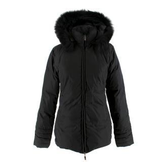 Moncler Black Short Down Jacket