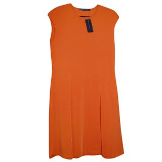 Ralph Lauren Jersey Orange Dress