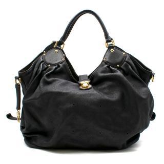Louis Vuitton Black Monogram Mahina Leather XL Handbag