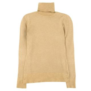Joos Tricot Metallical Lemas Turtle-Neck Sweater