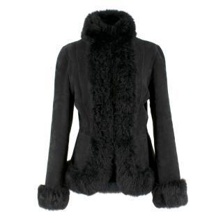 Ralph Lauren Lamb Shearling Coat