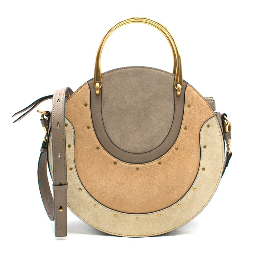 Chloe Suede Pixie Shoulder Bag