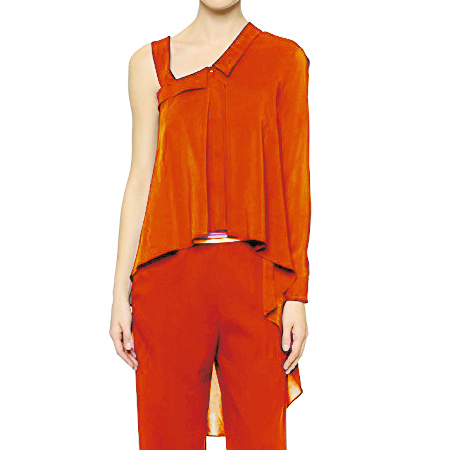 Viktor & Rolf Neon Orange Top