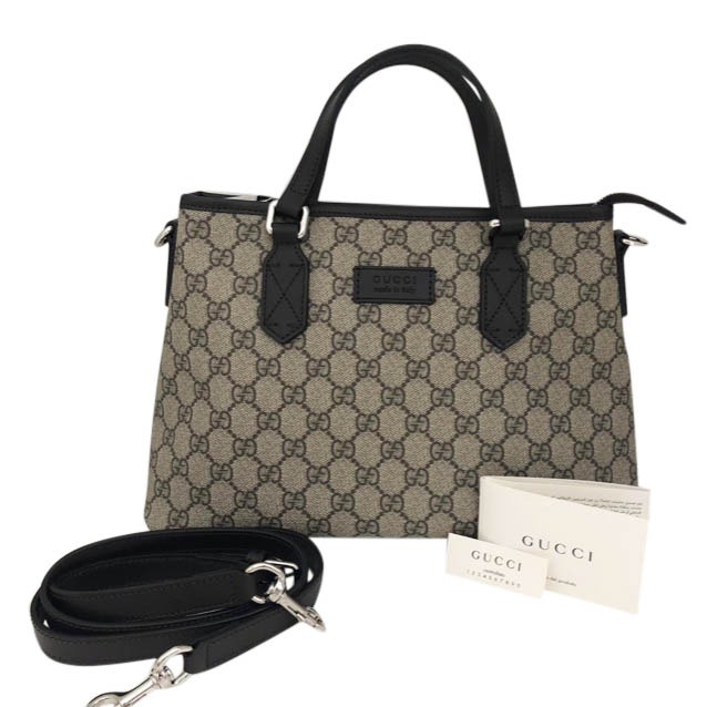 9331e71b1c9 Gucci Gg Supreme Shoulder Tote Bag