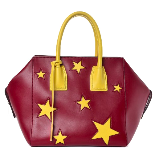 c3da78864c84 Stella Mccartney Fauxleather Star Embossed Tote Bag