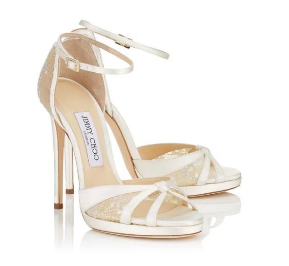 Jimmy Choo Talia Lace Sandals | HEWI
