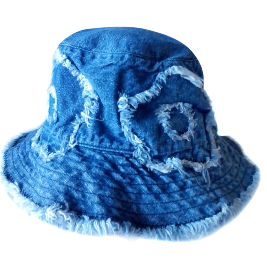 Moschino denim bucket hat