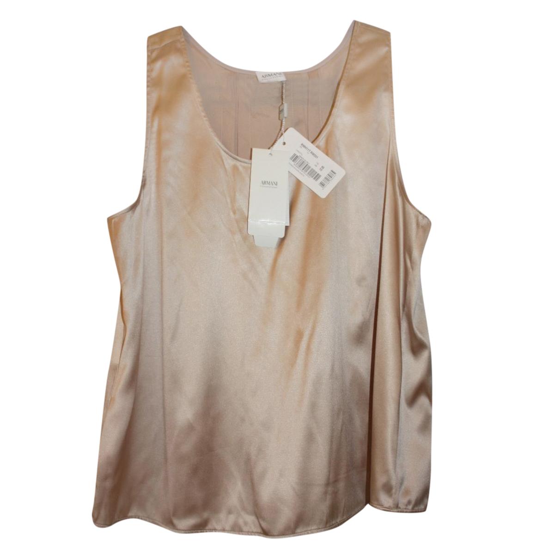 NEW ARMANI COLLEZIONI silk top