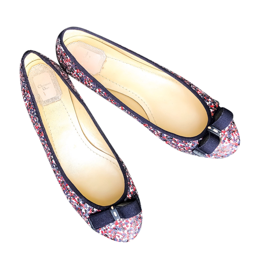 c69d48aa3fa0 Dior My Dior Ballerina Flats | HEWI London