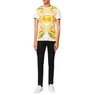 Versace Jeans chain-print T-shirt