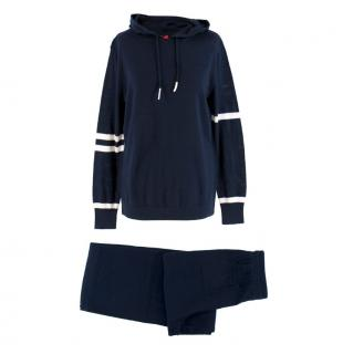 Kitri Navy Matilda Hooded Sweater and Frances Trousers Set
