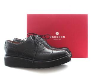 Grenson 'Emily' Leather Oxford Brogues