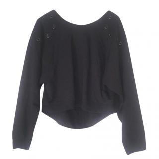 Alexander wang cropped sweatshirt